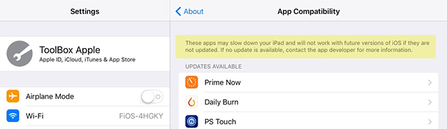 app compatible - Các bước cần chuẩn bị để nâng cấp lên iOS 11