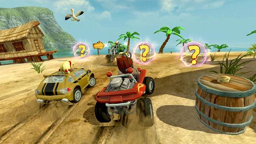 beach buggy racing - Top 10 game đua xe địa hình miễn phí hấp dẫn trên iOS và Android