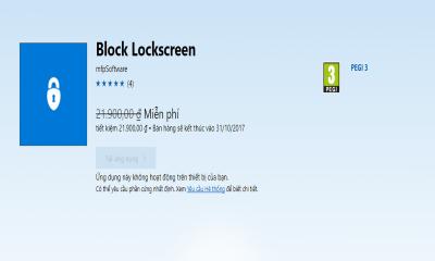 block lockscreen 400x240 - Ứng dụng chống khóa màn hình cho Windows 10 Mobile đang miễn phí