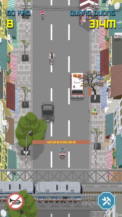coi to cho vuot 2 - Hài hước tựa game Còi to cho vượt do người Việt phát triển