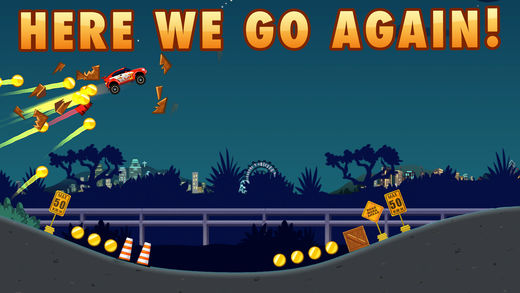 extreme road trip 2 - Top 10 game đua xe địa hình miễn phí hấp dẫn trên iOS và Android