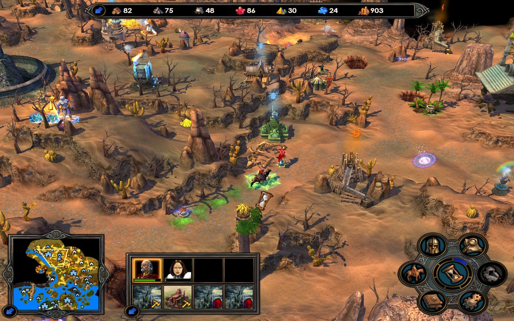heroes of might and magic v 9 - Game cũ mà hay: Heroes of Might and Magic V