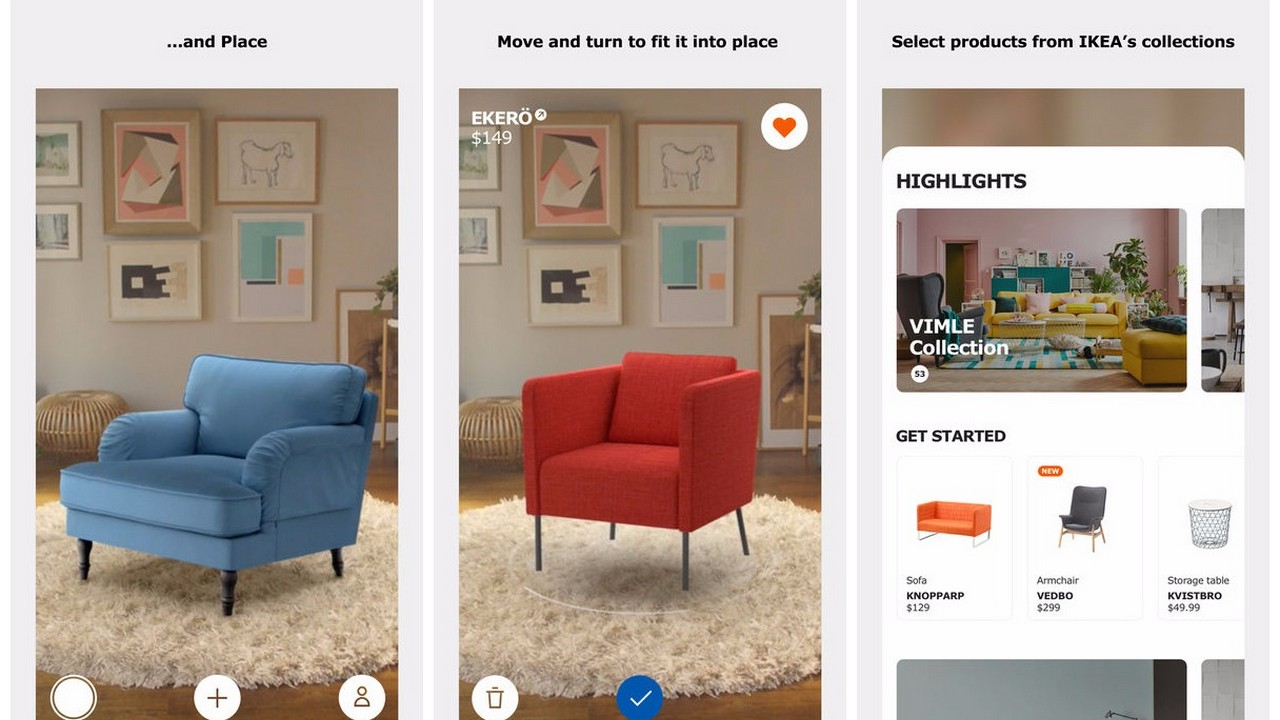 ikea place featured - Dùng thử ứng dụng đi chợ nội thất tại nhà bằng AR với Ikea Place