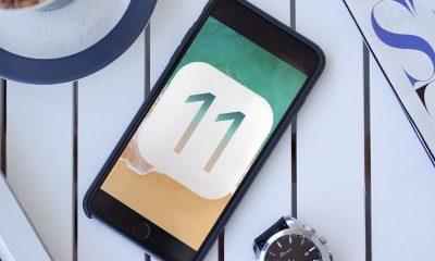 iOS 11 hao pin
