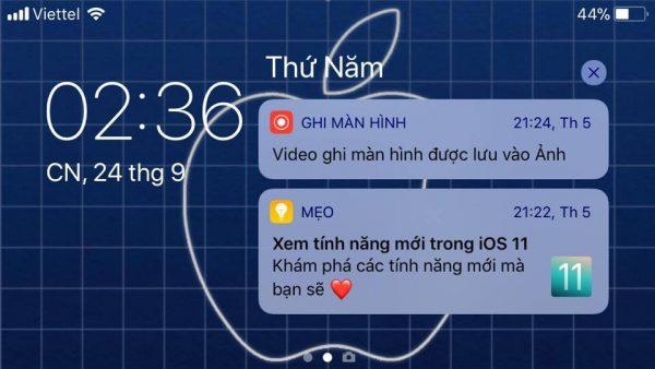 ios 11 quay ngang man hinh 600x338 - iPhone 5s hay iPhone 6 lên iOS 11 có quay ngang màn hình được không?
