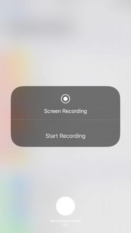 ios 11 screen recording 450x800 - Tổng hợp 80 thủ thuật iOS 11 mới nhất (phần 1)