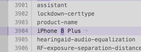 iphone 8 plus - iPhone X, iPhone 8, iPhone 8 Plus là tên ba chiếc iPhone mới của Apple