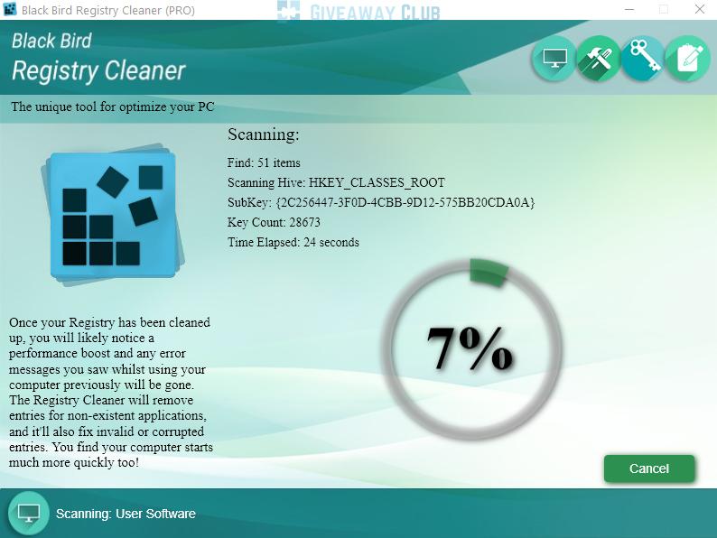 register cleaner - Tổng hợp 12 ứng dụng Windows và Mac miễn phí ngày 6.9 trị giá 87USD
