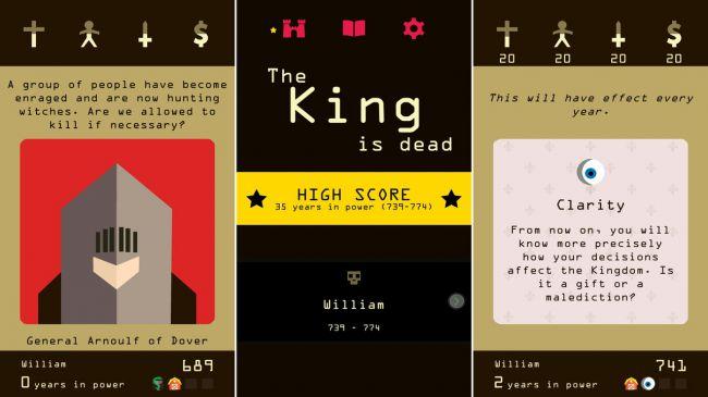 reigns - Top 13 tựa game thẻ bài đáng chơi nhất