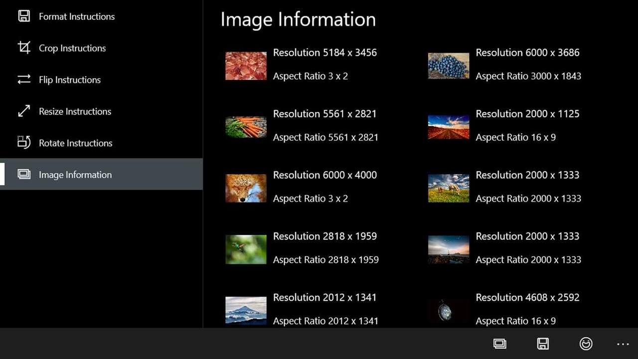 right image right format right dimensions - Cắt, chuyển đổi, thay đổi kích thước ảnh nhanh cho Windows 10
