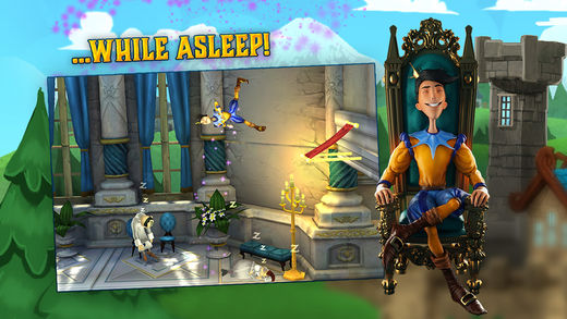 sleeping prince 2 - Game mobile hay: The Sleeping Prince