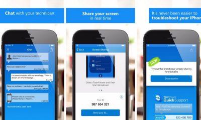 teamviewer quicksupport featured 400x240 - Cách chia sẻ màn hình iOS trên iOS 11 với Teamviewer