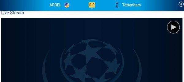 uefa 2 600x269 - Cách xem trực tiếp Champion League trên trang chủ UEFA
