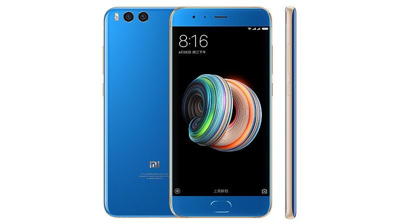 xiaom mi note 3 blue gold 1505120850641 - Mi Note 3: máy ảnh kép và máy ảnh mặt trước 16MP