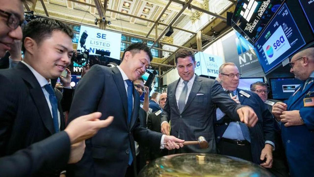 03 - Sea vừa IPO thành công trên sàn New York