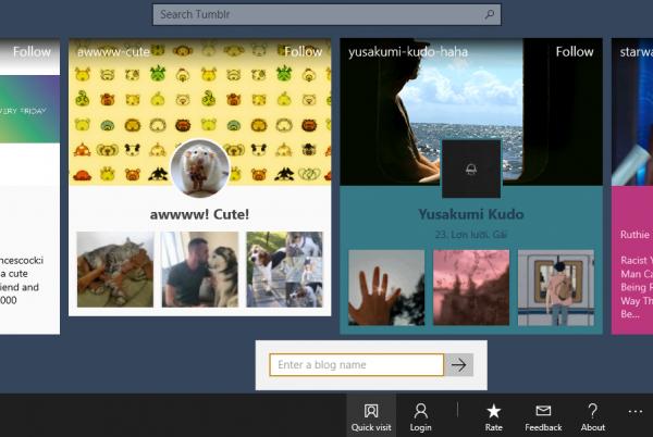 """Tumblast: Ứng dụng Windows 10 dành cho """"tín đồ"""" Tumblr"""