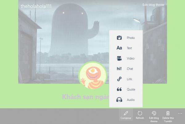 """2017 09 22 16 11 50 600x402 - Tumblast: Ứng dụng Windows 10 dành cho """"tín đồ"""" Tumblr"""