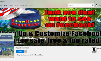 F.B.FluffBustingPurity 400x240 - Tiện ích mở rộng F.B.(FluffBusting) Purity đã có mặt trên Microsoft Edge