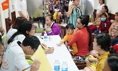 Hinh 1 Hinh anh buoi phau thuat Vi Nu Cuoi 7 400x240 - VNG và VNIF trao tặng hơn 200 triệu đồng phẫu thuật trẻ bị dị tật môi