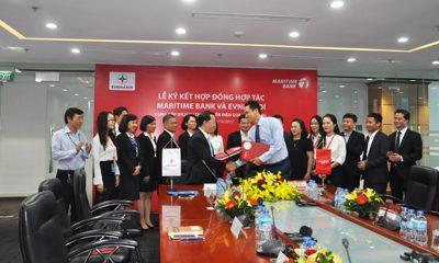 MSB EVN HN ky ket hop tac 1 400x240 - Maritime Bank triển khai dịch vụ thu hộ tiền điện trên địa bàn TP.Hà Nội