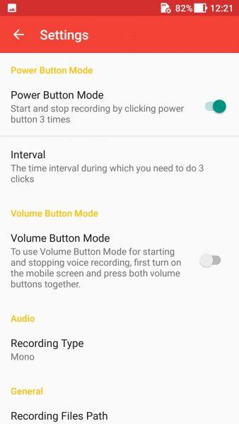 Screenshot 20171002 122114 338x600 - Ứng dụng ghi âm bí mật trên Android, tự sao lưu lên Google Drive