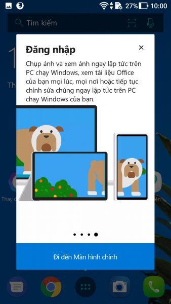 Screenshot 20171006 100031 338x600 - Trải nghiệm Microsoft Launcher mới trên Android