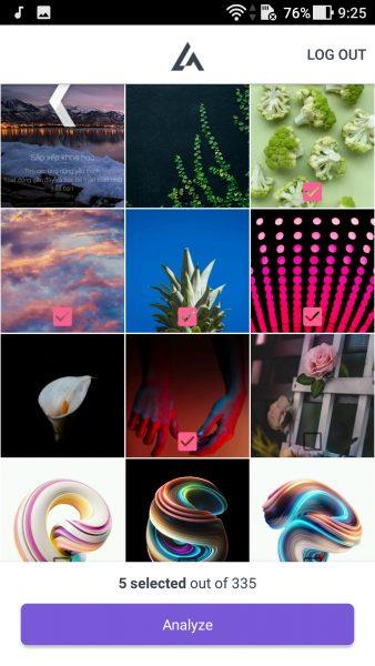 """Screenshot 20171008 092507 338x600 - LikelyAI: Chọn ảnh """"tốt nhất"""" chia sẻ lên Instagram bằng trí tuệ nhân tạo"""