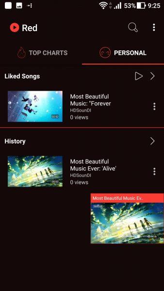 Screenshot 20171012 092534 338x600 - Cách xem nghe video YouTube bên ngoài ứng dụng trên Android (P.2)