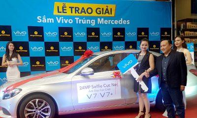 """Vivo TGDD Promotion 400x240 - Trao giải chương trình """"Sắm Vivo – Trúng Mercedes"""""""