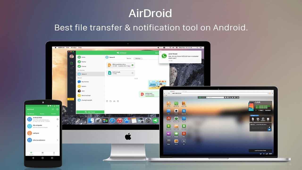 ad - Cách dùng Airdroid cho iPhone, ứng dụng vừa ra mắt trên App Store