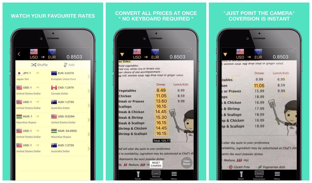 currentcy cam pro featured - Cách chuyển đổi tiền tệ, tỉ giá nhanh ngay trên bảng giá