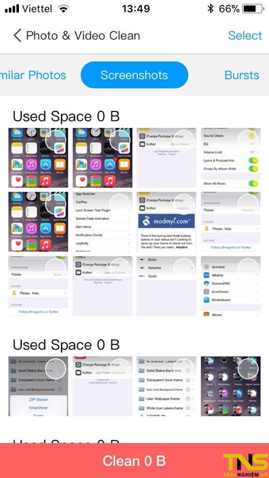 dr clean 2 - Dọn dẹp iOS đơn giản với Dr.Clean