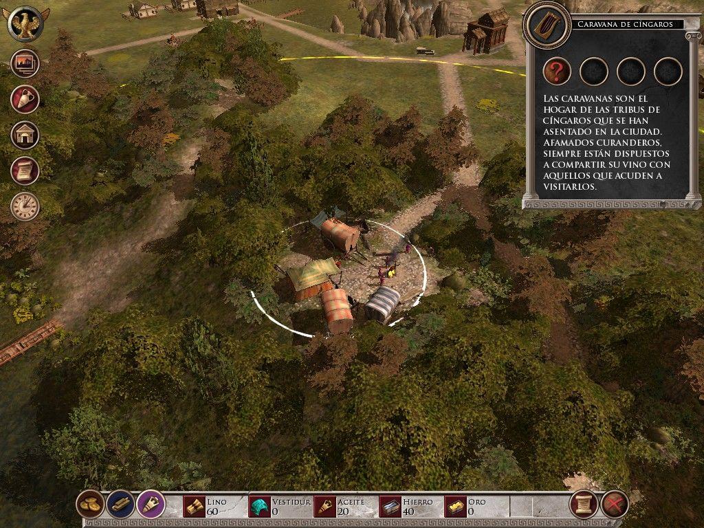 glory of the roman empire 2 - Game cũ mà hay: Glory of the Roman Empire