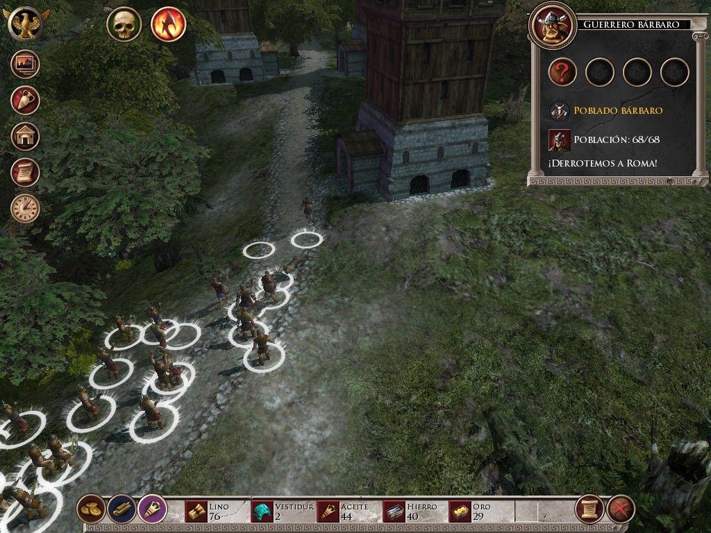glory of the roman empire 3 - Game cũ mà hay: Glory of the Roman Empire