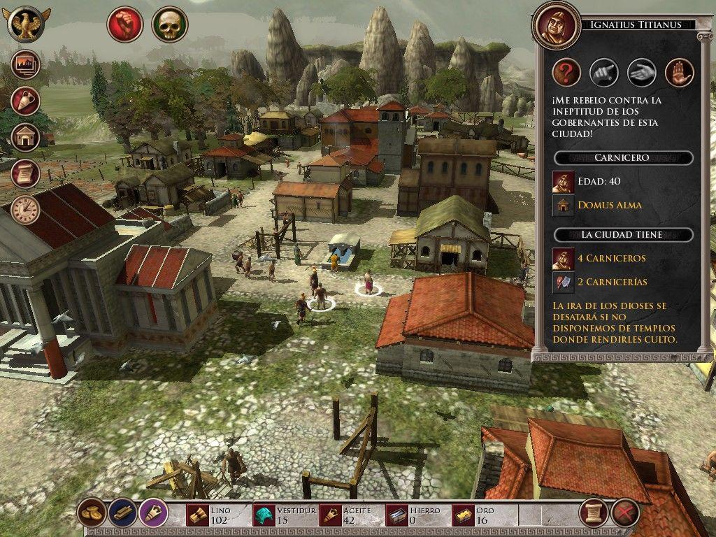 glory of the roman empire 4 - Game cũ mà hay: Glory of the Roman Empire