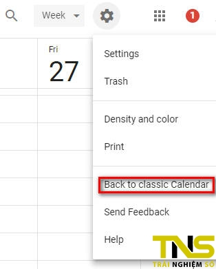 google calendar moi 2 - Cách bật giao diện Google Calendar mới