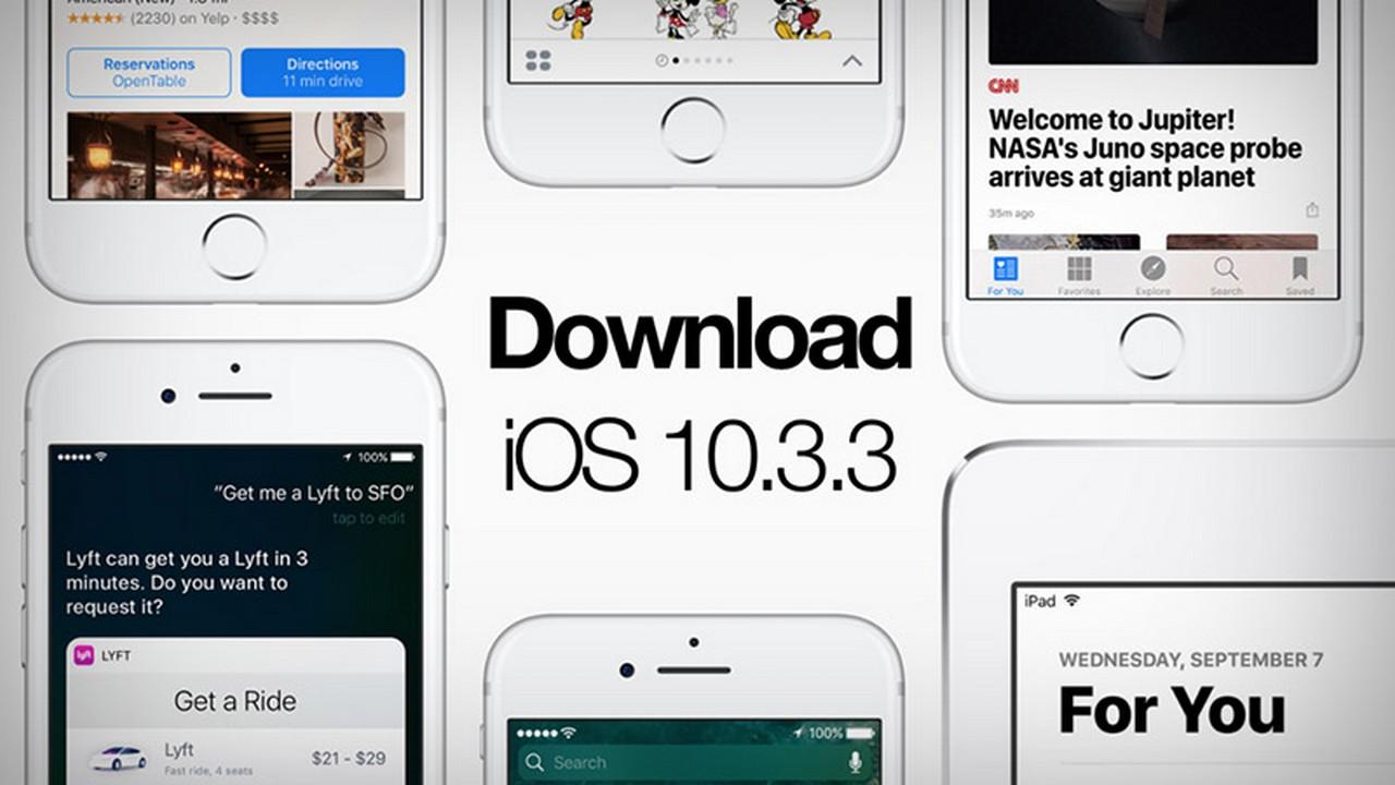 ios 10.3.3 featuted - iPhone 6s vẫn có thể quay về iOS 10.3.3 sau khi khóa sign