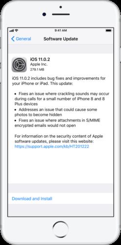 ios 11 0 2 - Đã có iOS 11.0.2, mời các bạn cập nhật