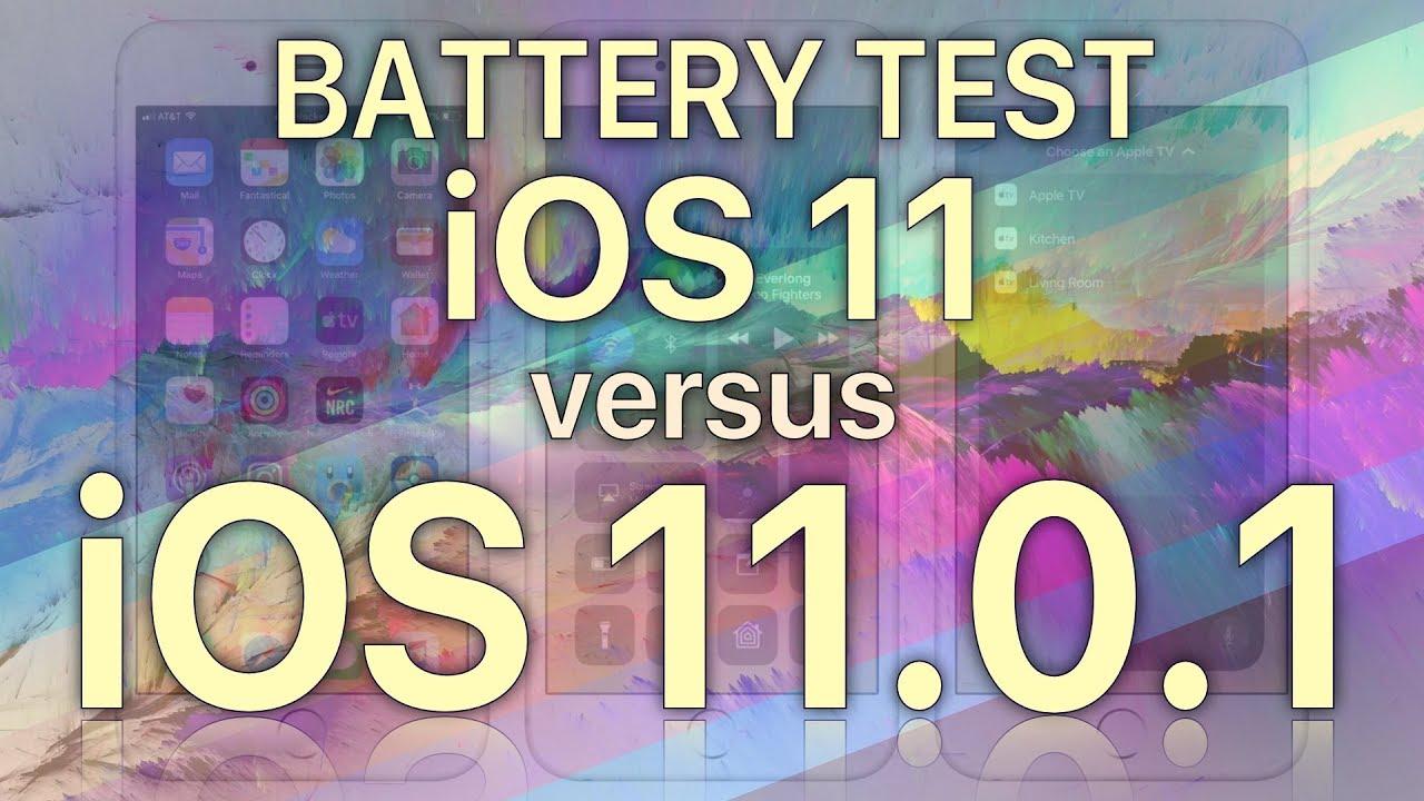 ios 11 1 test pin featured - iOS 11.0.1 có cải thiện pin so với iOS 11?