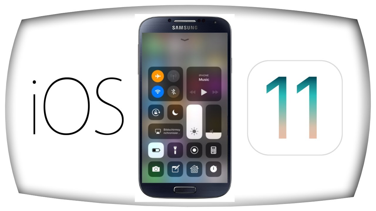 ios11 for android - Cách đem giao diện iOS 11 lên Android