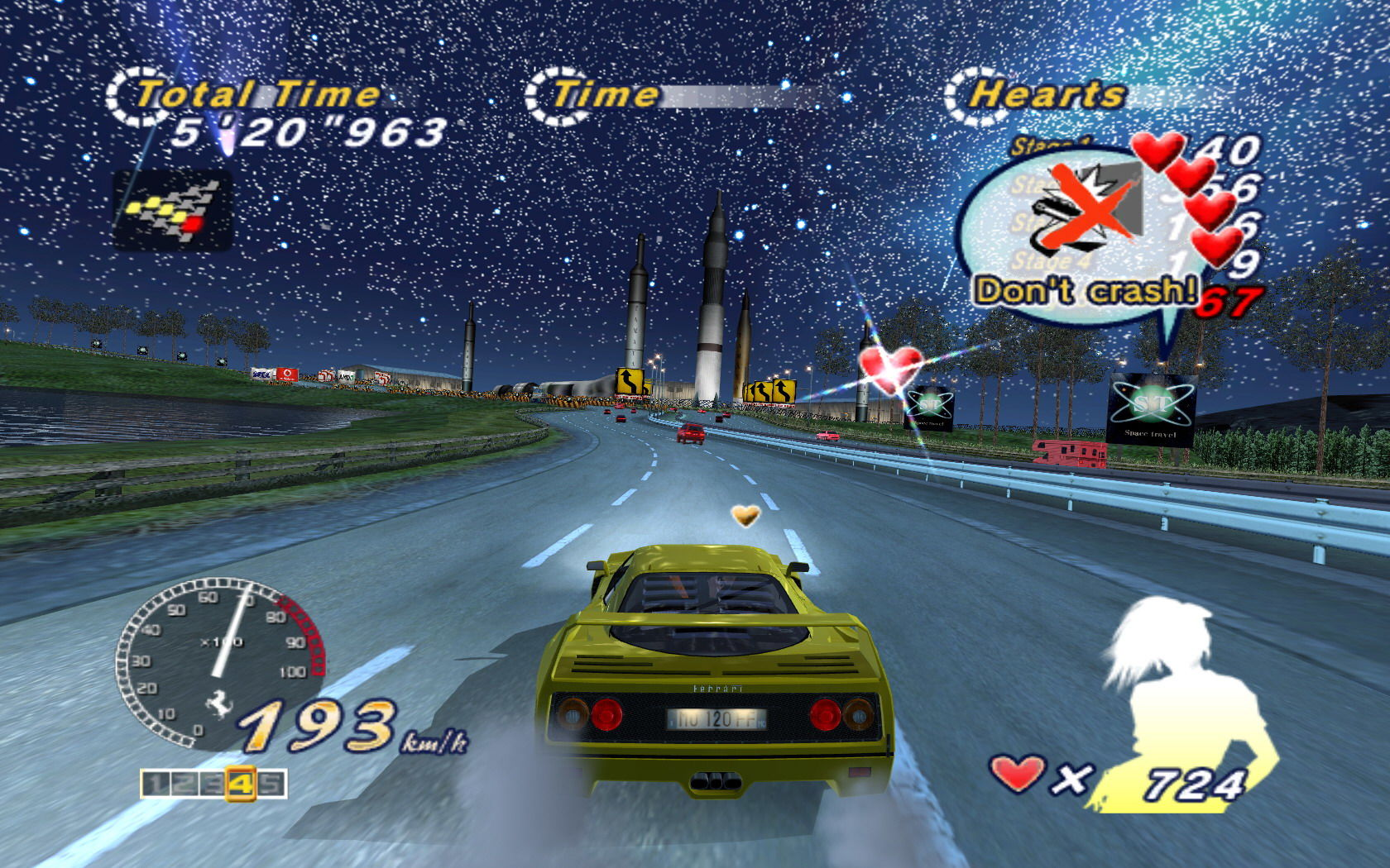 outrun 2006 9 - Game cũ mà hay: OutRun 2006 - Coast 2 Coast