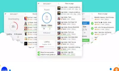 skyload 400x240 - Skyload: Tiện ích trình duyệt giúp tải nhạc, video trên 99% trang web