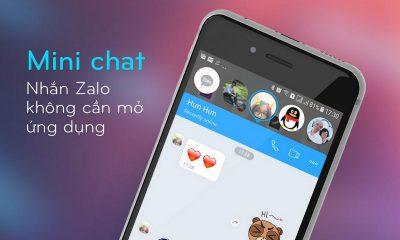 zalo mini chat 400x240 - Zalo Mini chat là gì?