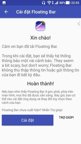 Screenshot 20171122 225600 338x600 - Mang thanh công cụ nổi Floating Bar của LG V30 lên các thiết bị Android khác