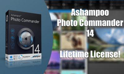 Mời bạn tải miễn phí ứng dụng Ashampoo Photo Commander 14 trị giá 50USD