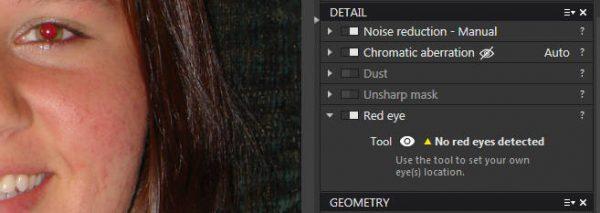 dxo optics 11 red eyes 1 600x213 - Cách khử mắt đỏ trong DxO OpticsPro 11