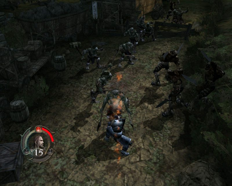 forgotten realms 3 800x640 - Game cũ mà hay - Forgotten Realms: Demon Stone