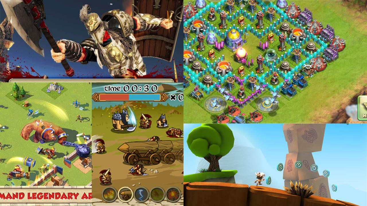 game mobile box so 7 featured - Game mobile box #7: Manuganu, Battle Beach, Spartans vs Vikings...