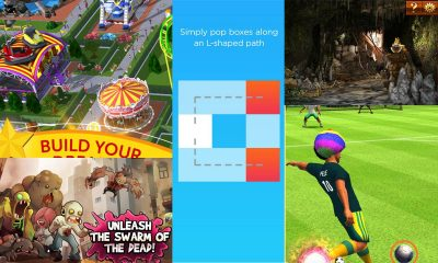 Game mobile box #1: RollerCoaster Tycoon, BoxPop, Swarm of the Dead,…