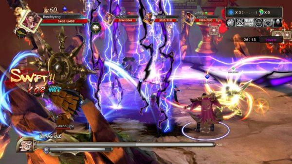 Knights of Valour PS4 screenshot